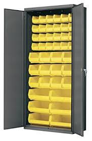 Akro Mils Storage Cabinet by Amazon Com Akro Mils Ac3618 Y Steel Storage Cabinet With Flush