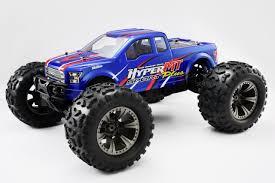 100 Monster Truck Engine HoBao HBMTC30BUN Hyper MT Plus Nitro RTR Blue Body W