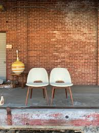 Vintage Mid Century Modern Scoop Dining Chairs (1404-C) By Adrian Pearsall  For Craft Associates- 1 Pair