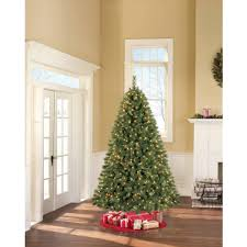 Bethlehem Lights Christmas Tree Instructions by Artificial Christmas Tree Pre Lit 7 5 U0027 Prescott Pine Clear Lights