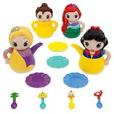 Disney Character Bathroom Sets by Amazon Com Disney Princess Q Tea Play Set Toys U0026 Games