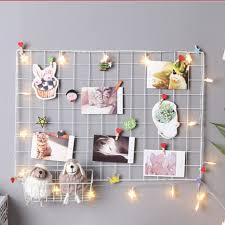 Wire Wall Grid Decor Home Furniture On Carousell