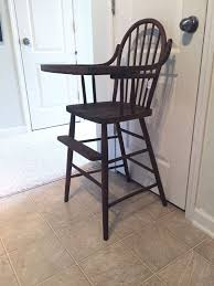 Heywood Wakefield Chair Identification by Late 1800 U0027s High Chair Vintage Wooden High Chair Jenny Lind