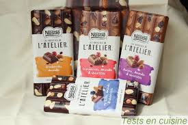 les recettes de l atelier nestlé nouveautés chocolatées