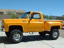 100 Chevy Stepside Truck For Sale 1977 GMC K15 Short Box Step Side 4x4 Pickup Vintage Mudder