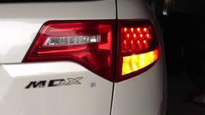 acura mdx rear turn signals