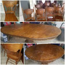 Kitchen / Dining Table Set W/7-9 Chairs Round To Oval W/leaf ... Art Fniture Belmar New Pine Round Ding Table Set With Camden Roundoval Pedestal By American Drew Black Or Mackinaw Oval Single With Leaf Tables Antique And Chairs Timhangtotnet Shop 7piece And 6 Solid Free Delfini Drop Espresso Pallucci Rotmans Amish Miami Two Leaves Of America Harrisburg 18 Inch The Beacon Grand Cayman Lavon W18 Intertional Concepts Sophia 5piece White