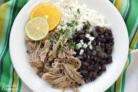 Tender And Juicy Cuban Mojo Pork Brings Robust Flavor Of Garlic Bright Citrus Notes To