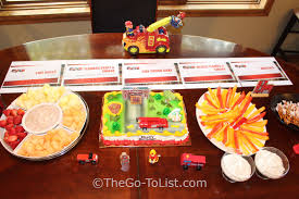100 Fire Truck Birthday Party Complete Instructions