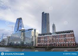 100 Sea Containers House Address London Cityscape Across The River Thames With A View Of The