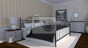 fototapete schlafzimmer landhausstil klassisch