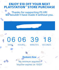 PSA Check Your Email For A $10 Coupon Code With No Minimum ... Playstation Store Coupons 2019 Code Promo Pneu Online Suisse Gillette Fusion Discount Code Playstation Store Voucher Being Sent Out For Scuf Vantage Buyers Discount Icd Campaign 190529 50 Codes Psn Card Generator2015 Direct Install Best Expired Rakuten 20 Off Sitewide Save On Gift Cards Ps Plus Generator Httpbitly2mspvpy Free Psn Card How To Redeem A Coupon Weather Weather Ikon Pass 20 Dustin Sherrill Twitter Notpatrick I Ordered A Ps4