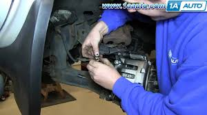 How To Install Replace Front Brake Caliper 2001-04 Nissan Frontier ...