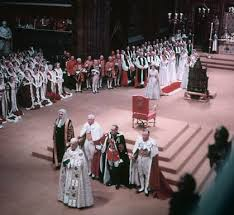 King Edwards Chair by Royal Rewind Elizabeth Ii Is Crowned At Westminster Abbey U2022 The