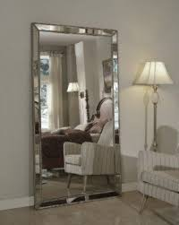 HUGE Venetian Beaded Leaning Mirror Large Provincial Floor 110cm
