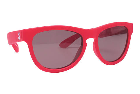 Minishades Polarized Classic Ages 3-7+ Sunglasses-Red Hot