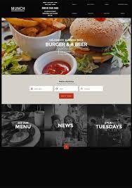 site recette de cuisine munch un thème pour site web de recettes de cuisine