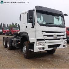 100 Truck Tractor Sino Howo 10 Wheeler Diesel Head Prime Mover For