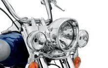 Harley Davidson Light Bar by New Chrome Auxiliary Light Bar For Fld Switchback Made By Harley