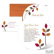 Rustic Leaves Wedding Invitation Invitationsmichaels Jean