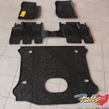 Jeep Commander Floor Mats Canada by 2014 2018 Jeep Wrangler Unlimited Complete All Weather Floor Mat