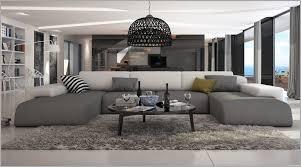 canapé grand angle haut canapé d angle bi matière décor 223747 canapé idées