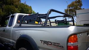 100 Truck Hunting Accessories Low Profile RTT Bed Rack 95 To 04 Tacoma