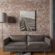Blueprint Pattern Design 3D Glue On Wall Panel Wall Flats