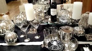 Pottery Barn Silver and Glass Halloween 2015 Stonehaven Manor
