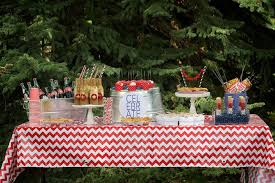 4th Of July Party Via Karas Ideas Outdoor Patriotic