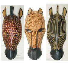 African Animal Masks