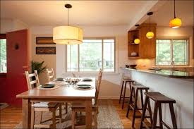 Lighting Kitchen Table Amazing Island Light Over Dining