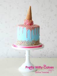 Wwe Cake Decorations Uk by Drip Cake Masterclass Pretty Witty Cakes