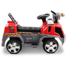 100 Fire Truck Red Rigo Kids Ride On Motorbike Motorcycle Car Grey With Free Customized Plate