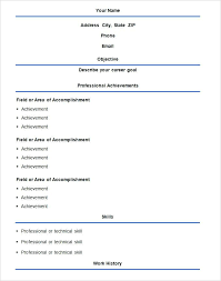 Resume Format Word File Download Lovely Simple In