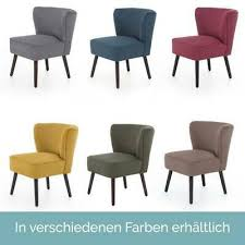 cocktailsessel vintage sessel loungesessel stoff clubsessel