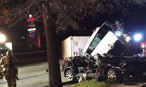 Two Critically Injured After Tractor Trailer Crash In Calverton ...