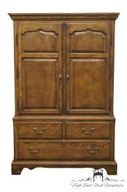 High End Used Furniture | DREXEL HERITAGE Chatham Oaks Engish ... Stunning Oak Jewelry Armoire Med Art Home Design Posters Drexel Heritage Accolade Campaign Style Ebth Drexel Heritage Ii 38 Chest Of Drawers Two Tables And A Transformation 62 Off 7drawer Wood Dresser Hooker Fniture Accsories French 050757 Vintage Faux Bamboo Cabinet With Pull Out Provincial Chairish Woodbriar Pecan Grand Villa Regency