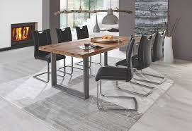 bläuliches grau einfaches modernes tischstuhlset für