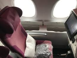 Upper Deck Redemption Problems by Flight Review Qatar A380 Economy From London To Doha