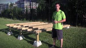 Shed Anchor Kit Bunnings by Handi Block Instant Foundation System Youtube