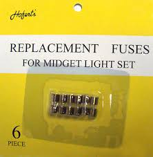 Fixing Christmas Tree Lights Fuse by Pack Of 6 Replacement Fuses For Mini Christmas Lights 3 Amps