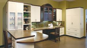 Huntwood Cabinets Arctic Grey by Sewer U0027s Craft Room Custom Cabinets