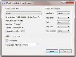 correcting usb serial driver problems snip support
