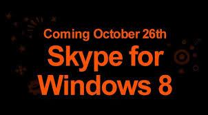 skype pour bureau windows 8 vidéo skype déjà prêt pour windows 8