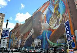 Philly Mural Arts Map by Philadelphia U0027s Mural Mile Riotflower U0027s Realm