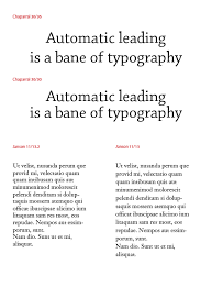 Thebookdesigner Automatic Leading Typographers Curse