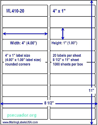 2 X 4 Label Template Per Sheet New 10 Avery 3 By
