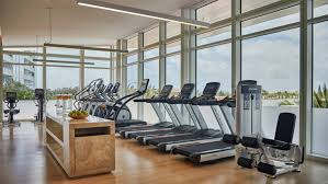 100 Four Seasons Miami Gym Beach Area Hotel Fitness Centre