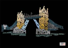 I Feel This Style Is Very Smart As The Designer Creates A Poster For City Of London Through Words And Shapes To Create An Eye Catching Image